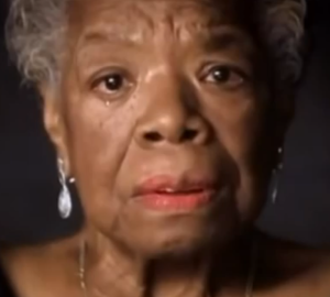 Maya Angelou telling her mother story